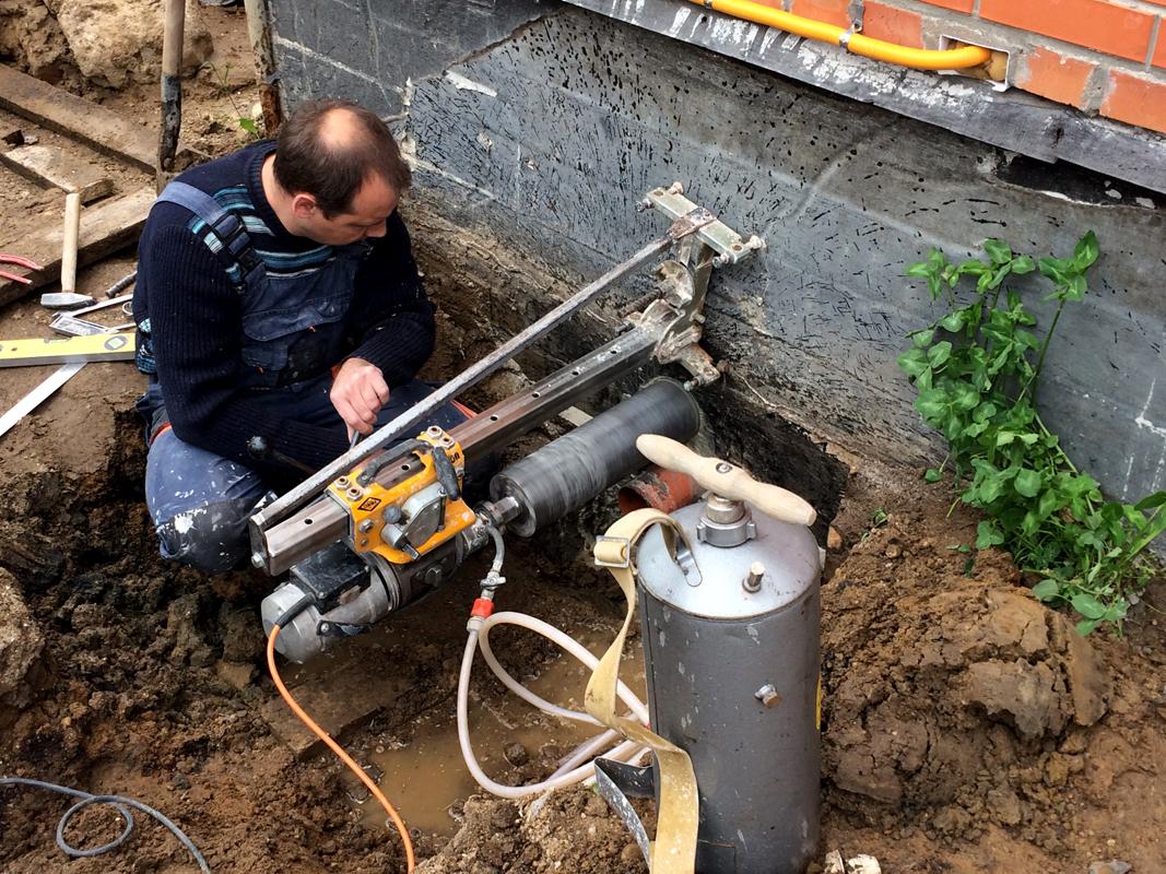 Фундамент и коммуникации - канализация и водопровод 32